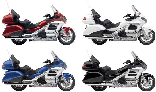 Goldwing 2012 colors